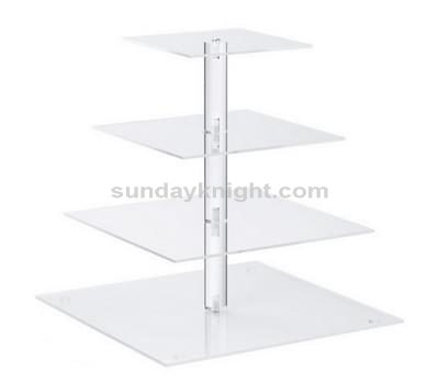 Clear acrylic cupcake stand