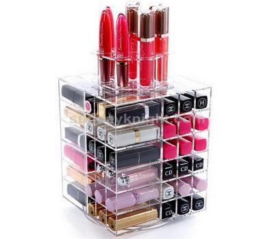 Plastic lipstick organizer