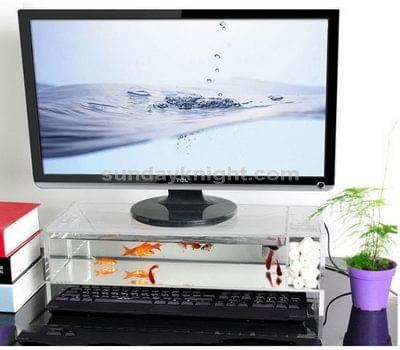 Perspex monitor riser