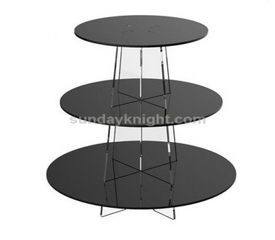 Grey cupcake stand