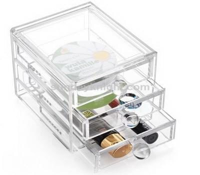 Acrylic storage drawers