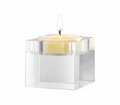 Acrylic candle stand