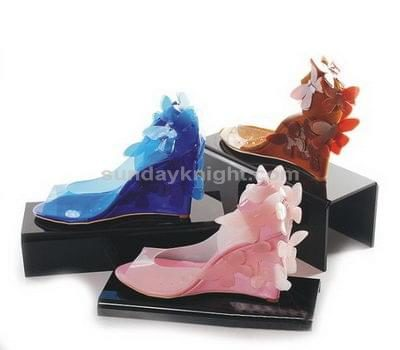 SKOT-038-1 Acrylic shoe display stand