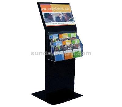 Floor brochure stand