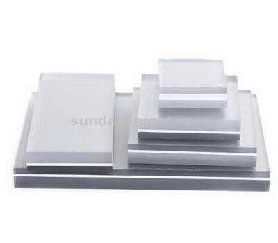 Lucite display blocks