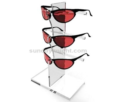 Acrylic glasses display stand