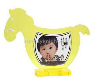 Horse shaped photo frame