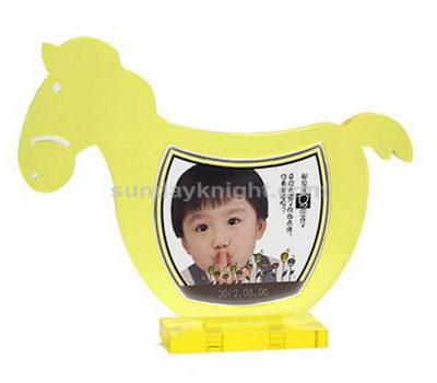 Horse shaped photo frame