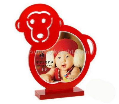 Monkey shaped photo frame