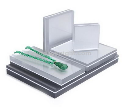 Acrylic jewelry display blocks