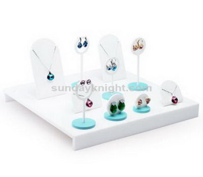 Acrylic jewelry display stands