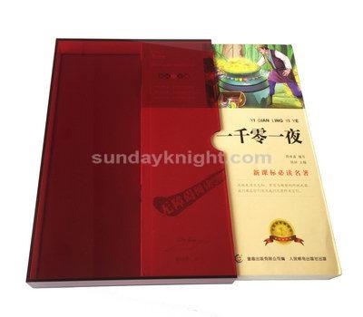acrylic slip case