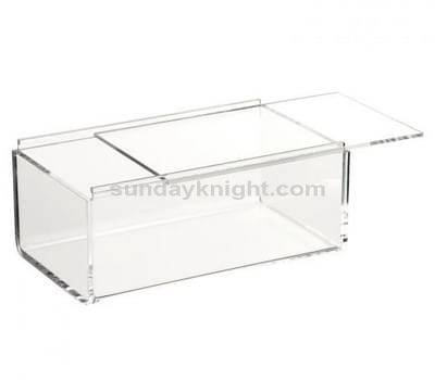 custom acrylic box with sliding lid