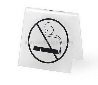 No tobacco sign