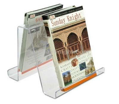 Clear book stand