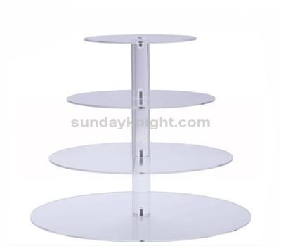 Perspex cake stand