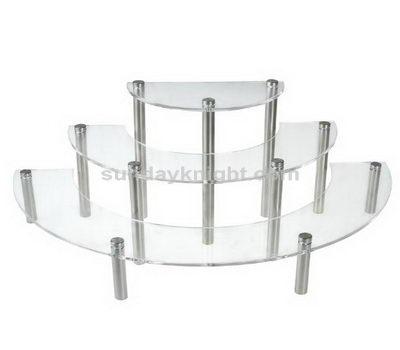 Acrylic shelf risers