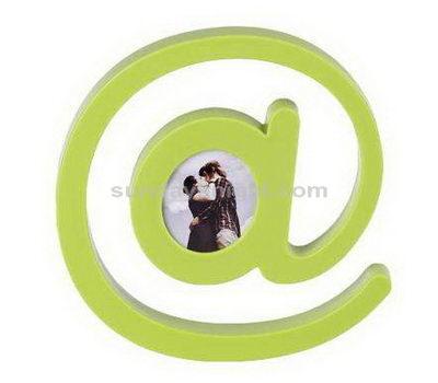 @ shaped acrylic photo frame