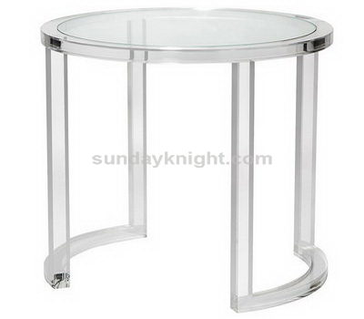 Acrylic round table