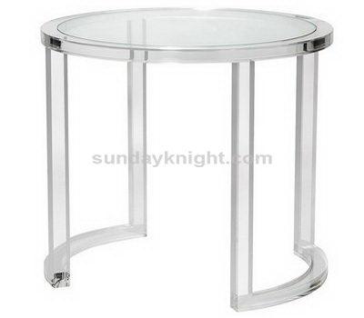 Acrylic round table