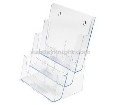 Three tier brochure holder