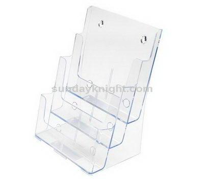 Three tier brochure holder