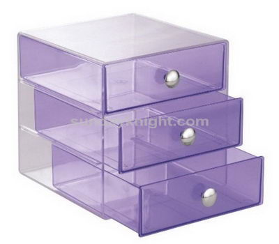 Custom acrylic drawer boxes