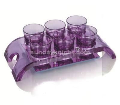 SWD-039-2 Acrylic shot glass holder