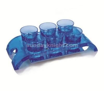 Acrylic shot glass holder