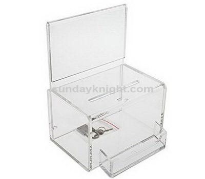 Acrylic donation box