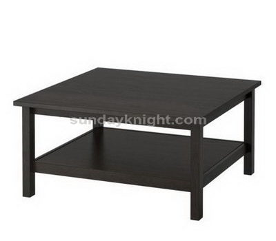 Black acrylic table