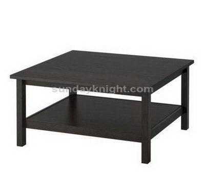 Black acrylic table