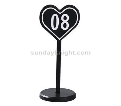 Personalized acrylic table numbers