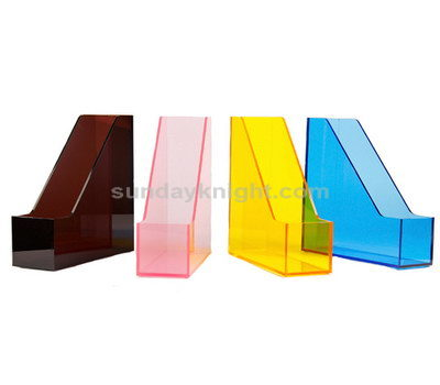 Acrylic file organizer box