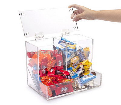 Plexiglass candy dispenser