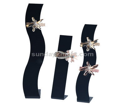 Hair barrettes display stand
