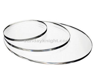Acrylic discs cut to size