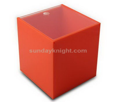 Orange acrylic box