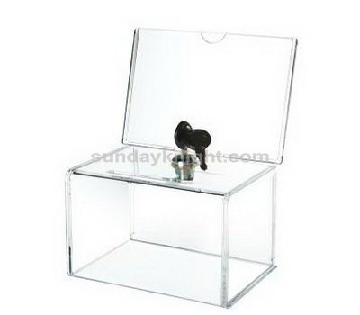 Acrylic donation box suppliers