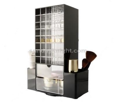 Mini acrylic cosmetic cabinet