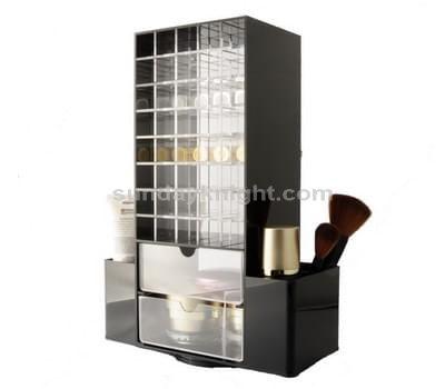 Mini acrylic cosmetic cabinet