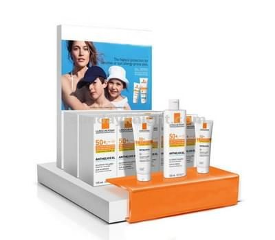 Cosmetic product display stands