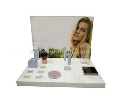 Acrylic cosmetic display