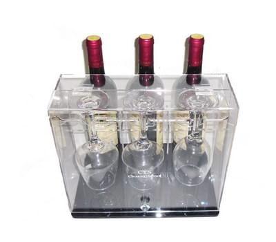 SWD-041-1 Acrylic wine glass display box