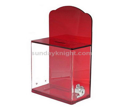Plastic donation box