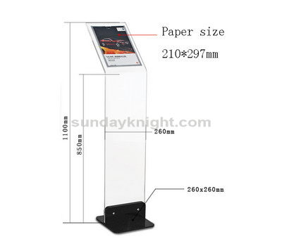 Auto vehicle 4S shops parameter exhibition sign stand