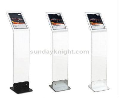 Auto 4S shops parameter exhibition display stand