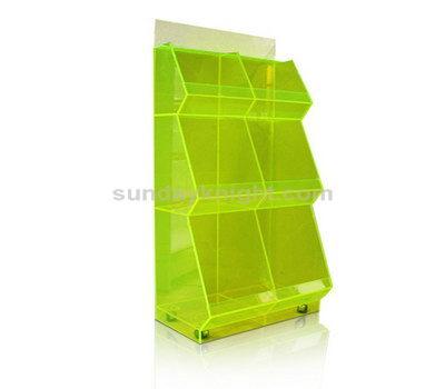 Acrylic display shelves