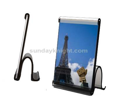 H shaped acrylic photo frame