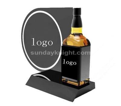 Liquor bottle display